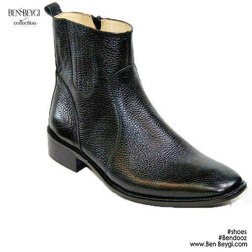 مدل کفش مردانه بوت مدل زیپی