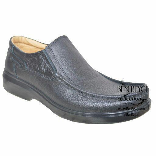 کفش کار مردانه بدون بند کد122