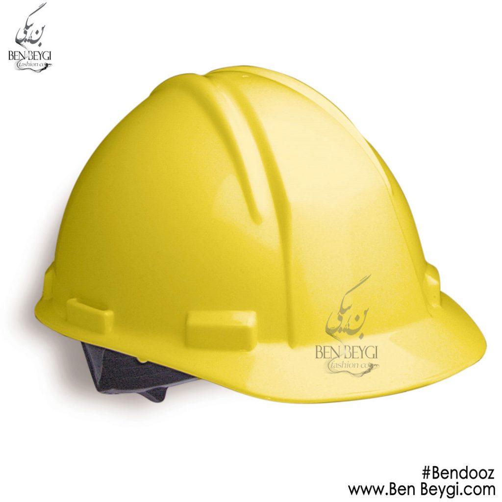 کلاه ایمنی زرد بندوز کد ira7045