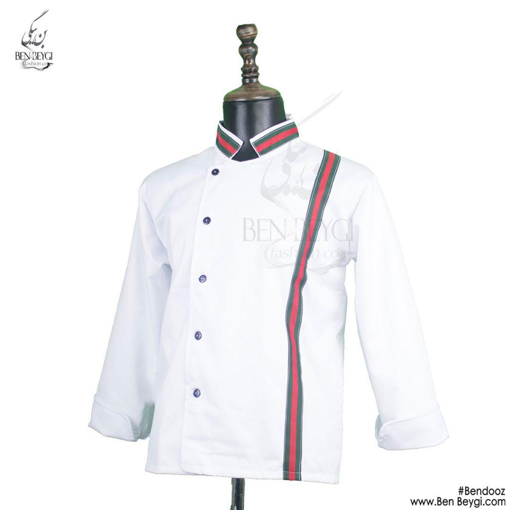 پیراهن-آشپزی-سفید-گوچی